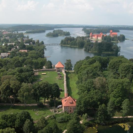 Тракайский Полуостровной замок