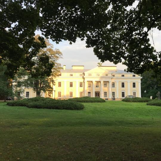 Verkiai manor